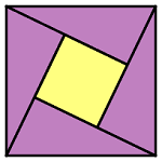 ProofWithoutWords:PythagoreanTheorem ICON