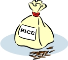 2674 bag of rice